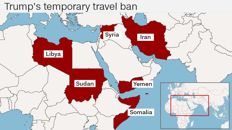 Trump S Travel Ban From  Countries
