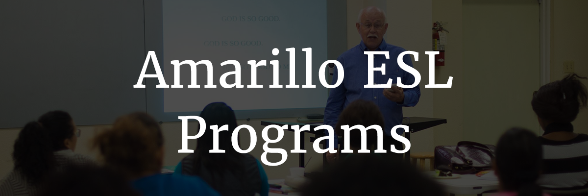 Amarillo ESL programs