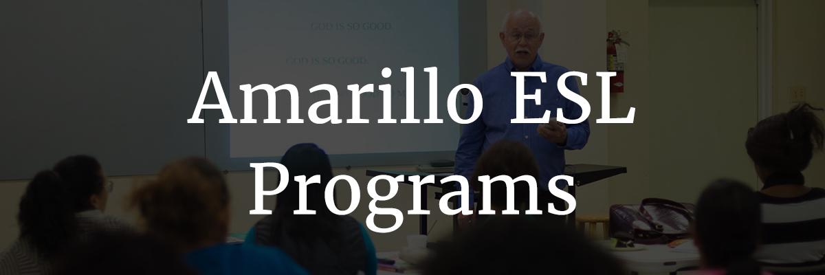 Amarillo ESL programs
