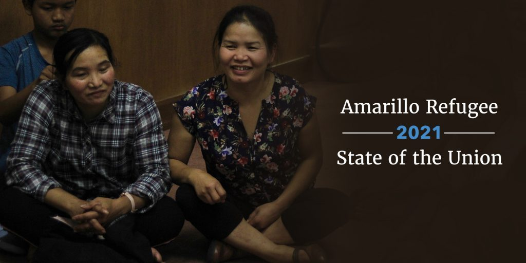 Amarillo Refugee State of the Union 2021--header2
